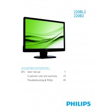 Philips 220BL2CB 22 inch Monitor