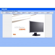Philips 220BW8E 22 inch Monitor