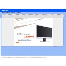 Philips 220BW9CS 22 inch Monitor