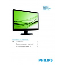 Philips 220S1CB 22 inch Monitor